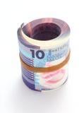 香港$10附注 图库摄影
