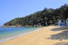 香港Cheung Chau海岛海滩 图库摄影