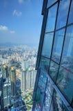 香港ICC 免版税库存图片