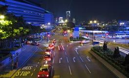 香港nightview 免版税库存图片