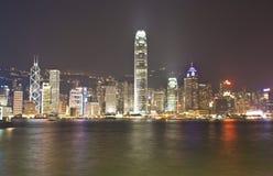香港nightview 库存图片