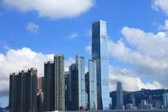 香港s地平线 免版税图库摄影