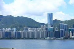 香港s地平线 图库摄影