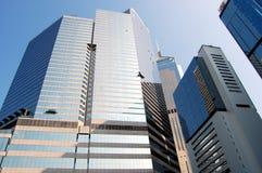 香港scyscrapers 库存图片