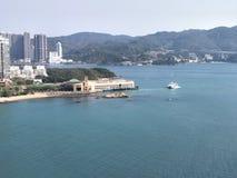 香港sealand视图 库存图片