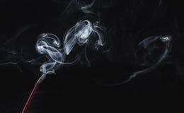 香火烟 免版税图库摄影
