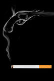 香烟为自杀 免版税库存照片