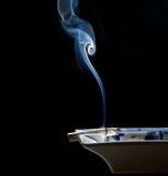 香烟发烟烟 免版税库存照片