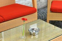 香烟咖啡旅馆 库存图片