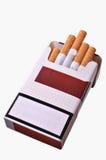香烟开张装箱 免版税图库摄影