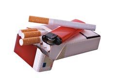 香烟开张装箱 库存图片
