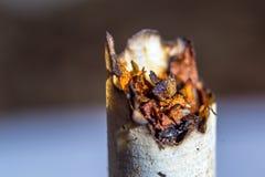 香烟抽烟了 库存图片