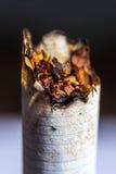 香烟抽烟了 库存照片