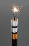 从香烟的炸药 库存照片