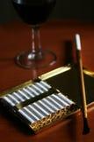 香烟经典之作持有人 免版税库存照片