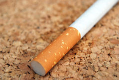 香烟补白 免版税库存图片