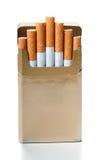 香烟装箱 库存图片