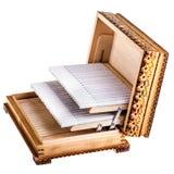 香烟配件箱 库存照片
