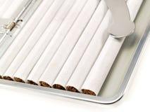 香烟配件箱 免版税图库摄影