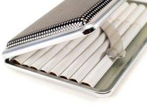 香烟配件箱 免版税库存照片