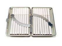 香烟配件箱 库存图片