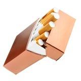 香烟配件箱 免版税库存图片
