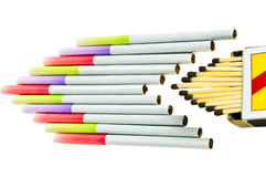 香烟 免版税图库摄影