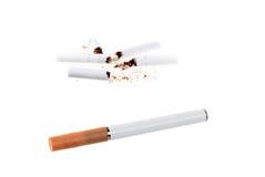 香烟e 免版税库存照片