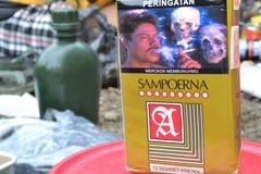 香烟Sampoerna,印度尼西亚 免版税图库摄影