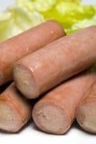 香肠维也纳 免版税图库摄影