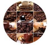 茴香芳香豆小豆蔻巧克力桂香咖啡成份糖 库存照片