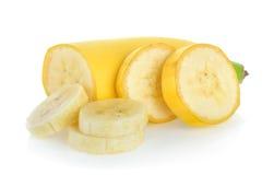 香蕉切片 库存照片