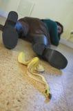香蕉危险 免版税库存照片