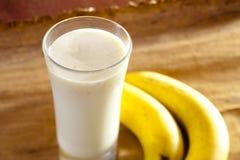 香蕉奶昔 库存图片