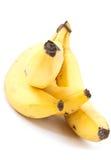 香蕉束起成熟 库存照片