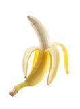 香蕉查出的白色 库存图片
