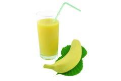 香蕉汁 免版税库存照片