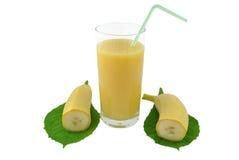 香蕉汁 免版税库存图片