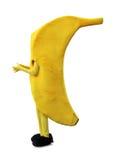 香蕉滑稽的人 库存图片