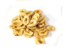 香蕉烘干片式 免版税图库摄影