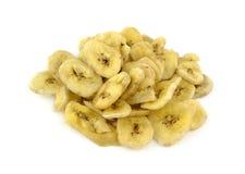 香蕉烘干 库存图片