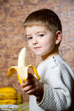 香蕉男孩 库存图片