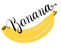 香蕉的例证 库存图片