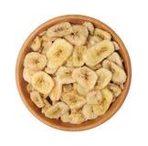 香蕉芯片 免版税库存照片