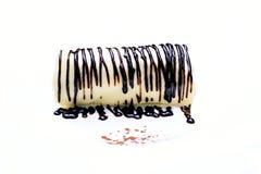 香蕉蛋糕角色 免版税库存图片