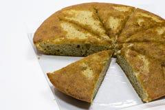 香蕉蛋糕 免版税库存图片