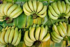 香蕉顶视图 免版税图库摄影