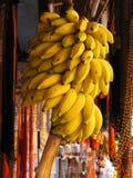香蕉高温 库存照片