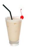 香蕉鸡尾酒冻结的代基里酒饮料 库存图片