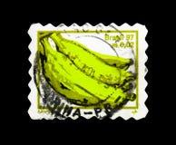 香蕉,果子serie,大约1997年 免版税库存图片